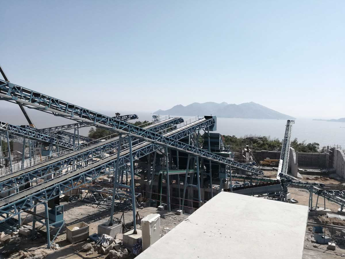 Aggregate Plant For Nuclear Power Station,  Fujian,  China