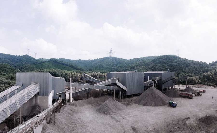 1500TPH Mining Project,  Hubei,  China
